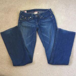 True Religion Boot Cut Ladies Jeans size 27